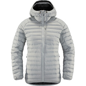 Haglöfs Essens Mimic Hood Jacket Women stone grey